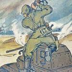 Иван поваром для 91-ого танкового полка красной армии был.