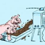 Десять способов манипулирования людьми с помощью СМИ.
