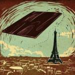 В 1908 году французский авиатор Огюст фаньер, совершая показательный полет над Парижем, врезался в эйфелеву башню и погиб.