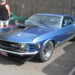 Ford Mustang Mach 1 1970-х, в который установили двигатель с 3000 лошадками на борту.