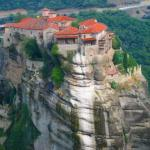 Метеоры: парящие монастыри Греции.