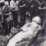 Ископаемый гигант.  12-Футовый окаменелый гигант был найден в 1895 году во время горных работ в английском городе мы антрим.