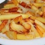 Несколько правил того, чтобы ваша жареная картошка получилась вкусной и красивой.