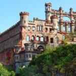 Замок баннермана - остров поллепель, Нью-йорк.