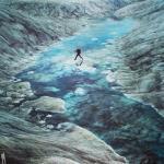 Ледник Рут, национальный парк денали, Аляска.