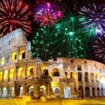 Итальянский фейерверк.  Итальянцы известны тем, что превратили фейерверк в художественное произведение искусства.