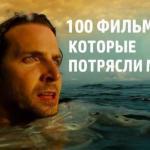 ? 100. Фильмов, которые потрясли мир.