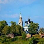 Церковь воскресения христова в сусанино - лучший русский пейзаж.