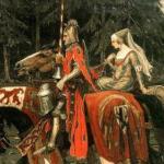 Ах, рыцари!  Ах, прекрасные дамы!