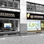 Пред нами сбербанк в Чехии.